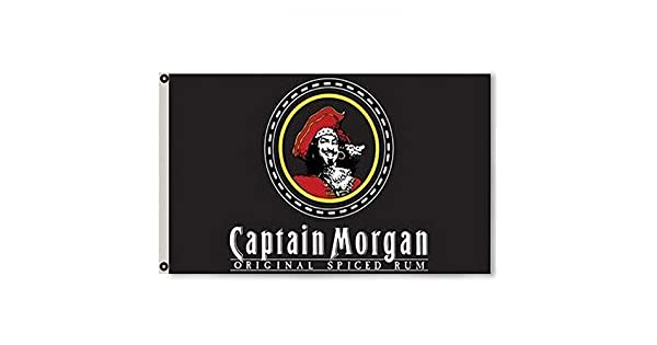 Amazon.com: 2BUT captain morgan Ron bandera Banner 3 x 5feet ...
