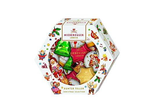 Niederegger Bunter Teller 'Christmas Selection', 1er Pack (1 x 232 g)