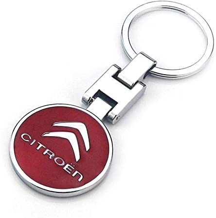 Villsion 3d Auto Logo Schlüsselanhänger Doppelseitige Legierung Metall Auto Anhänger Mit Geschenkbox Auto