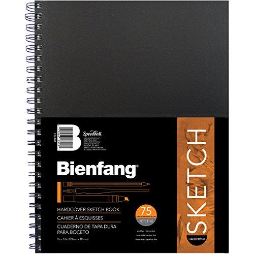 Bienfang 9 by 12-Inch Hardcover Bienfang Sketch - Sketchbook Bienfang