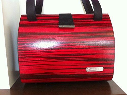 Elegante borsa a mano VON nussbag, modello Classic Macassar Chilli