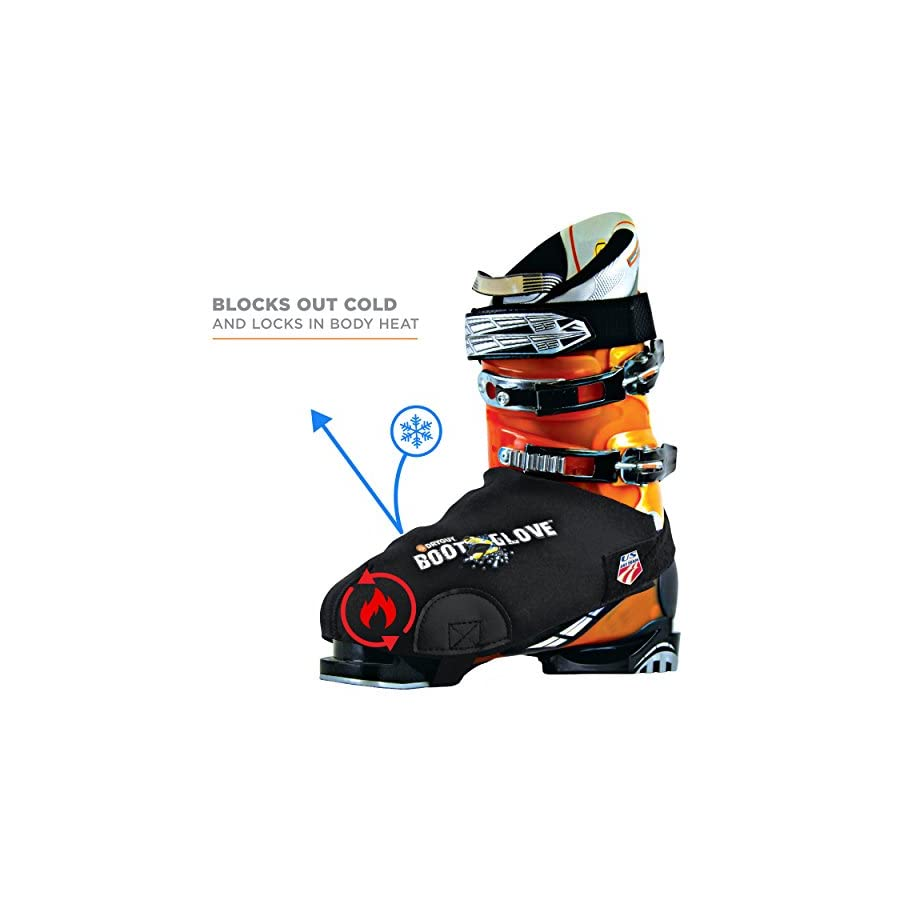 DryGuy BootGlove Ski Boot Covers, Keep your Feet Dry and Warm