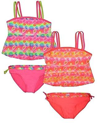 Real Love Girls' 2 Pack Tankini Bathing Suit Separates