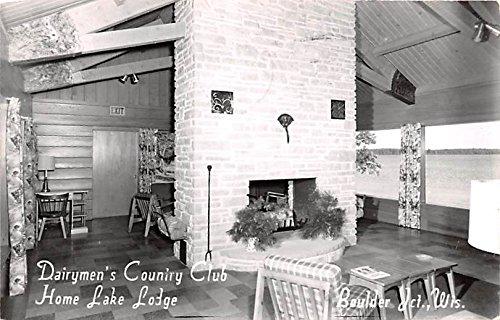 Dairymen's Country Club Boulder Junction, Wisconsin postcard