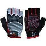 Big Time Products Grease Monkey Pro Fingerless Gloves (Medium)
