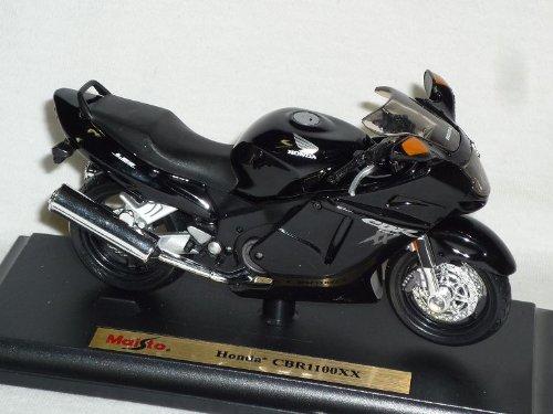 Honda Cbr1100xx Cbr1100 Cbr 1100 Xx 1100xx Schwarz Mit Sockel 1/18 Maisto Modellmotorrad Modell Motorrad Modellcarsonline