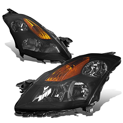 For Nissan Altima L32A D32 4th Gen 4-Door Sedan Pair of Smoked Lens Amber Corner Headlight Lamp