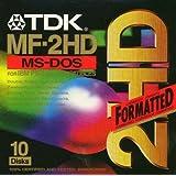 TDK 3.5in DS/HD Floppy Discs (T06050)