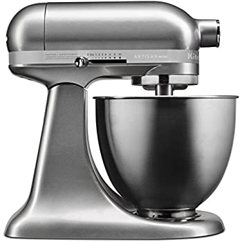 Amazon Com Kitchenaid Ksm150pswh Artisan Series 5 Qt Stand Mixer