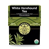 Organic White Horehound Tea - Kosher, Caffeine-Free, GMO-Free - 18 Bleach-Free Tea Bags