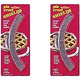Aluminum Pie Crust Shield Set, 10 Pieces