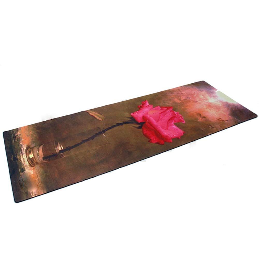 - Tapis De Yoga Multifonctionnel De Mode d'impression Antidérapant Tapis De Fitness Insipide Haut Tapis De Fitness élastique Tapis De Danse Pula Mat