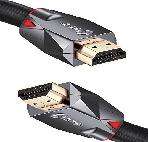 4K High Speed HDMI Cable 30ft - HDMI 2.0 4K Ultra HD HDR Cord - Supports 4K 60hz, 1080p 240hz, 3D 120hz, HDCP 2.2 and ARC - 24AWG by iBirdie by iBirdie (Image #8)
