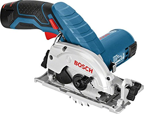 Cordless Jigsaw Bare (Bosch GKS 10.8 V-LI Professional Cordless Circular Saw The smallest professional universal saw ( Bare Tool))