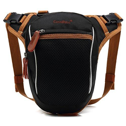 g Bag Tactical Bag Canvas Crossbody Messenger Bag Small Boy Hiking Waist Bag,Black ()