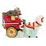 Christopher Radko Hold Your Horses, Santa! Christmas Ornament