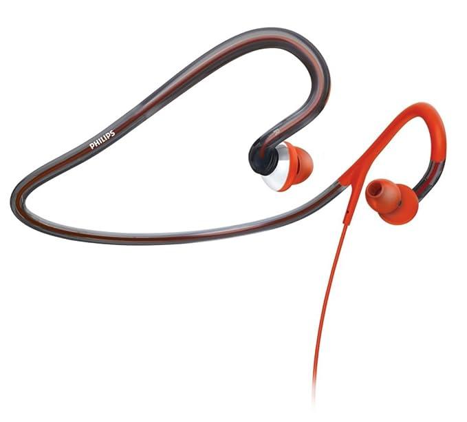 Philips SHQ4000/10 Auriculares deportivos con cinta para el cuello ...