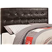 HOMES: Inside + Out ioHOMES Nile I Faux Crocodile Skin Adjustable Headboard, Full/Queen, Brown