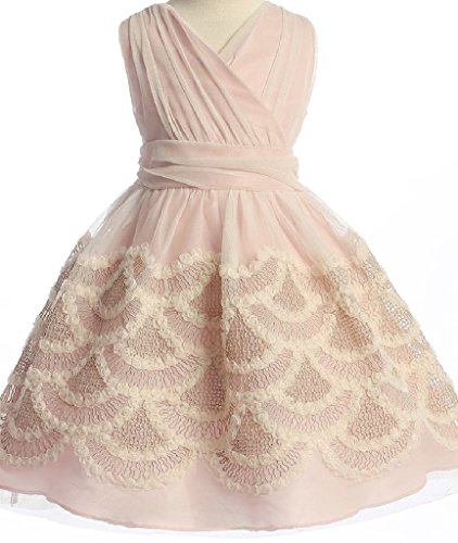 Ivory Embroidered Tulle - 9