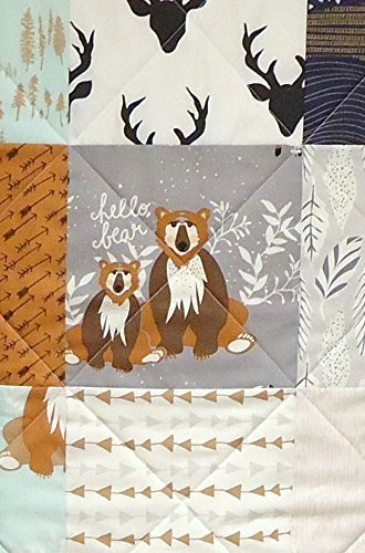 Baby Boy Quilt by Now and Then Quilts