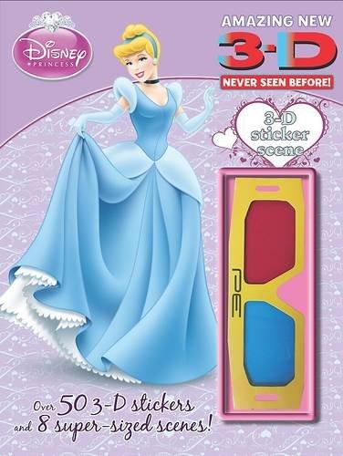 Read Online Disney 3D Sticker Scene: Princess ebook