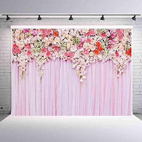 Fanghui 7x5ft Wedding Decoration Photography Backdrops Baby Shower Birthday Party Decroations Supplies Photo Background Vinyl