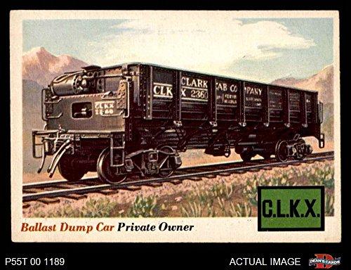1955 Topps Rails & Sails # 10 Ballast Dump Car (Card) Dean's Cards 4 - VG/EX 2422141 Ballast Dump Car