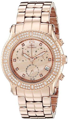 Swiss Precimax Women's SP13323 Tribeca Elite Analog Display Swiss Quartz Rose Gold Watch