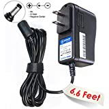 T-Power 9V 1A AC Adapter For Guitar Effect Pedal w/ Tip Size:5.5mm/2.1mm, inner negative center tip / (fits ZOOM Roland Behringer Boss Digitech Jim Dunlop Ditto Looper PolyTune Donner Dyna & MORE )