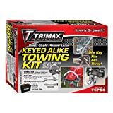 Trimax TCP50 Trailer Lock Combo Pack (Keyed Alike)