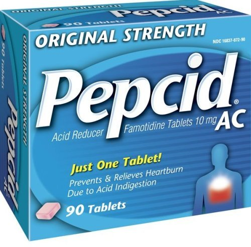 Pepcid AC Original Strength Acid Reducer Tablets, 90 Count by Pepcid