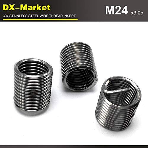 Ochoos m243D3.0P, 10pcs, 304 Stainless Steel auto Repair Thread Inserts, sus304 Engine Thread Repair Insert by Ochoos