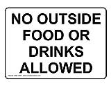 ComplianceSigns Vinyl label, 10 x 7 in. with Food Prep / Kitchen Safety message - White