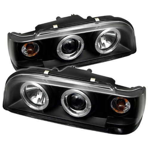 Spyder Auto Volvo 850 Black Halogen Projector Headlight