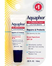Aquaphor Lip Repair + Protect .35 Fluid Ounce Carded Pack