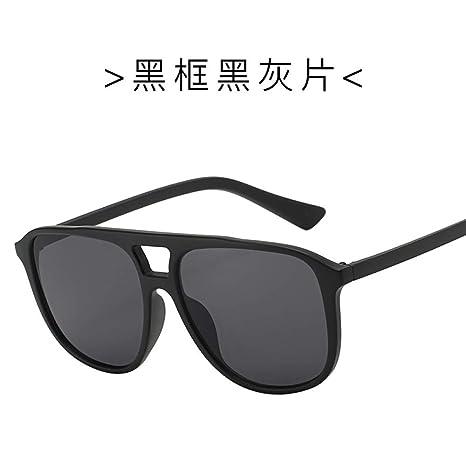 Yangjing-hl Gafas de Sol versión Coreana Masculina de la ...