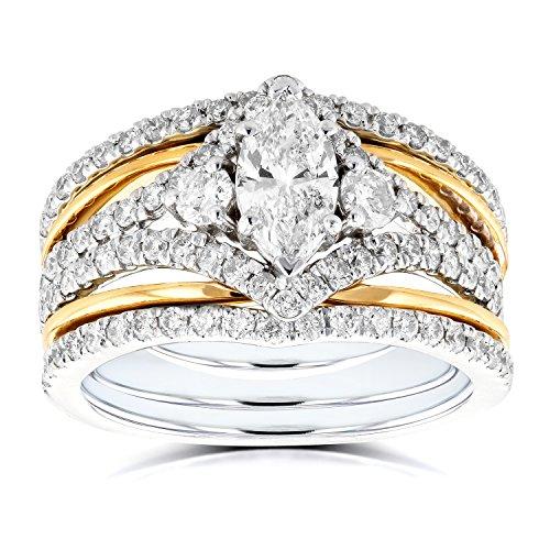 Diamond 2 Piece Bridal Ring - 9