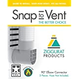Snap to Vent 90 degree elbow