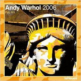 andy warhol pop art 2005 wall calendar