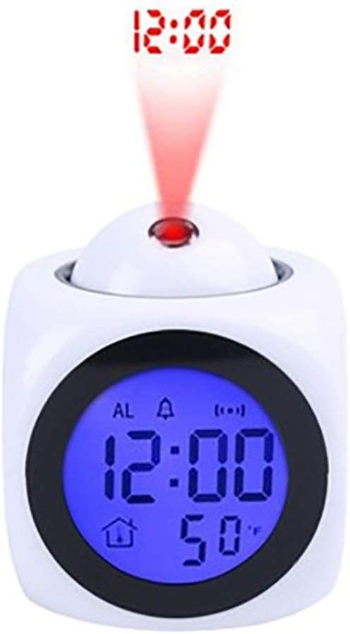 BOWCORE LED de visualización Digital Despertador proyector Puede ...