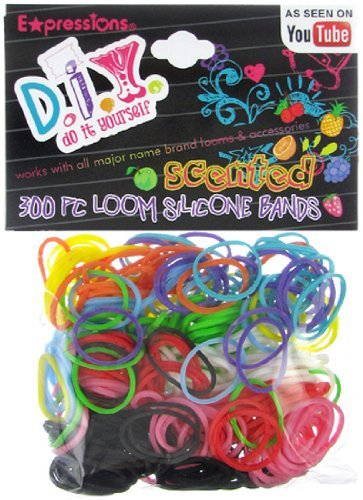 Game/Play Expressions Girl / D.I.Y. 300-piece Scented Latex-free Rubber Band Bracelet Loom Refill Pack Kid/Child