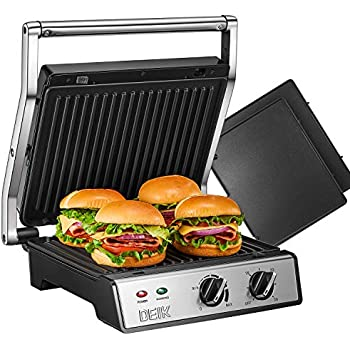 Amazon.com: Cuisinart GR-11 Griddler 3-in-1 Grill and Panini ...