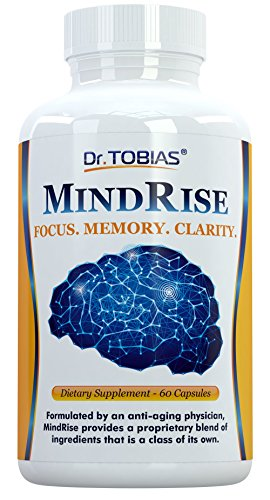 Dr. Tobias Brain Function Support for Focus, Clarity & Memory. Nootropic Smart Choice
