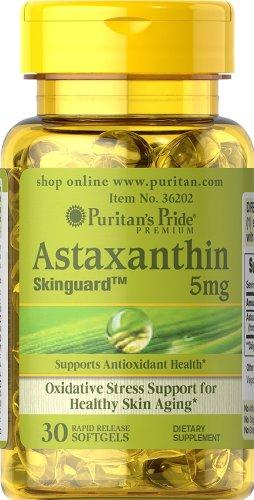 Pride Puritan Paquet de 2 astaxanthine 5 mg Fierté astaxanthine 5 mg-30 gélules de puritains