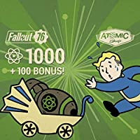 Fallout 76: 1000 (+100 Bonus) Atoms   - PS4 [Digital Code]