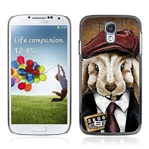 YOYOSHOP [Cute Rabbit In A Suit] Samsung Galaxy S4 Case by icecream design