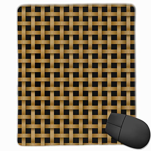 (Mouse Pad Personalized Seamless Rattan Pattern in Knotwork Style Game Mouse Pad Computer Mousepad Nonslip Rubber)