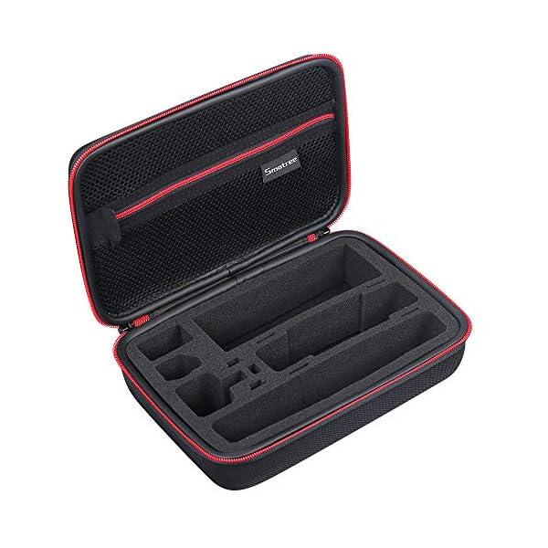 Smatree Custodia Rigida Compatibile con DJI Osmo Pocket 2 / DJI Osmo Pocket Camera, custodia portatile per modulo wireless, rotella controller, custodia di ricarica e altri accessori 4 spesavip