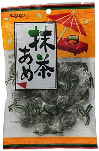 Kasugai Maccha Ame Green Tea Hard Candy, 4.58 Ounce