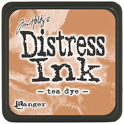 (Ranger Tim Holtz Distress Ink Pads, Mini, Tea Dye)